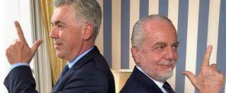 Napoli, l'importanza di chiamarsi Carlo Ancelotti: 13 punti in meno rispetto a Sarri e nessuno lo critica