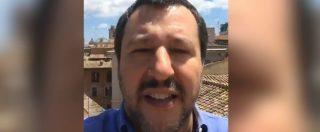 """Governo, Salvini: """"L'Unione Europea ci minaccia, noi faremo l'opposto di quello che dice"""""""