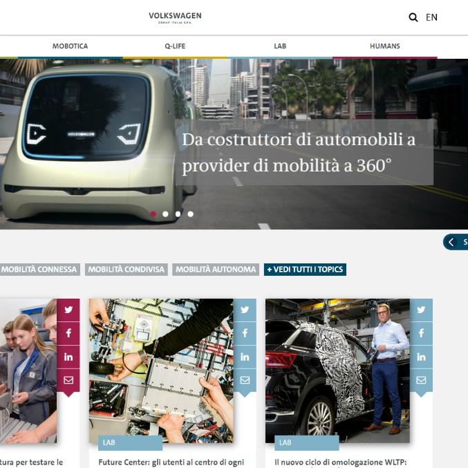Volkswagen Modo, un sito web per capire la mobilità di oggi e domani
