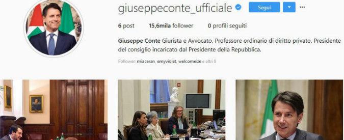 Giuseppe Conte: ecco i profili ufficiali su Facebook, Twitter e Instagram del premier incaricato