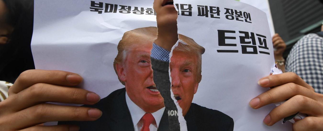 Vertice Trump-Kim Jong-un, il segnale è chiaro: con gli Usa non si può trattare. Solo arrendersi