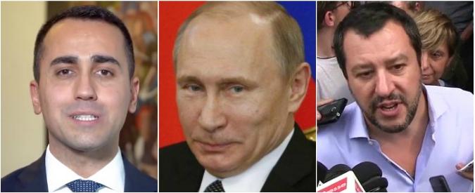 """Governo M5s-Lega, Putin: """"Dai politici italiani parole positive su sanzioni. Paese affidabile ma subordinato alle scelte Ue"""""""
