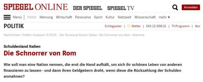 """Governo M5s-Lega, l'ambasciatore italiano in Germania scrive al Der Spiegel: """"L'articolo è una critica a intero popolo"""""""