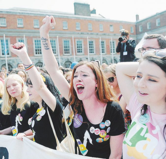 Rivoluzione irlandese. Aborto non più fuorilegge
