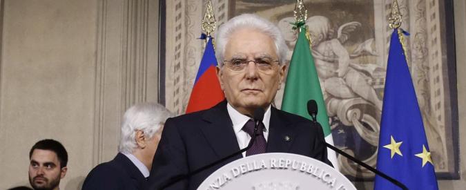 """Manovra, Mattarella: """"Costituzione tutela autorità indipendenti. Il potere inebria, per questo ci sono pesi e contrappesi"""""""