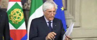 """Governo M5s-Lega, la comunicazione del segretario del Quirinale Ugo Zampetti: """"Conte ha rimesso incarico"""""""