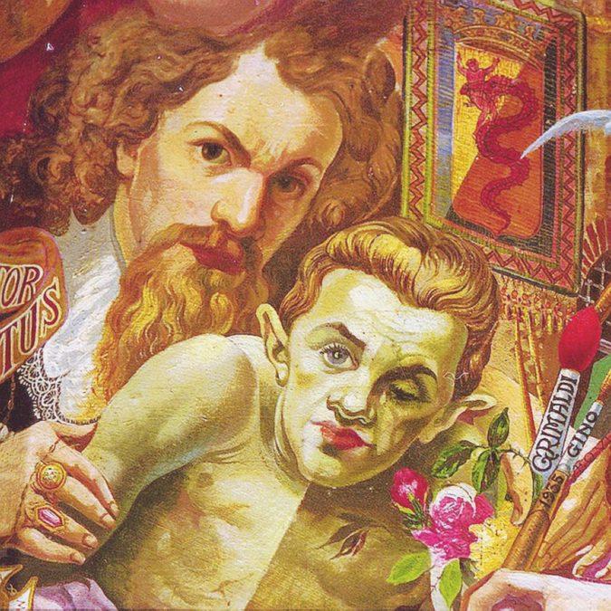 Cadono a pezzi le opere d'arte del pittore che credevano matto