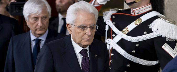 Crisi di governo, le uniche due strade di Mattarella per uscirne