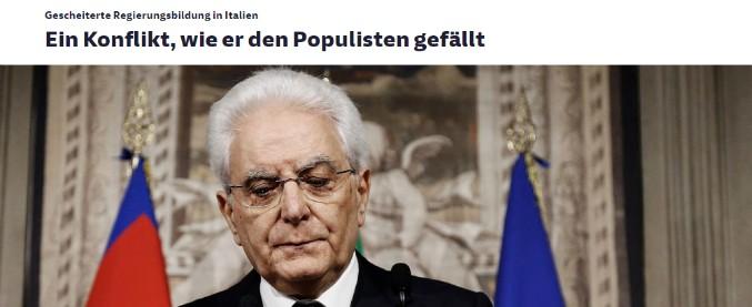 """Governo, i titoli dei media internazionali. Le Monde: """"L'Italia sprofonda nel caos"""". SZ: """"Tempi più drammatici da 30 anni"""""""
