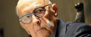 """Governo, Napolitano: """"Rapporto fra Italia e Ue è il solo banco di prova su cui valutare l'impegno del nuovo esecutivo"""""""