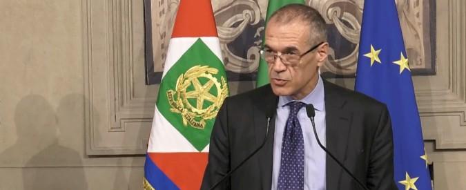"""Governo, Mattarella affida l'incarico a Cottarelli. Lui: """"Senza fiducia elezioni dopo agosto, altrimenti a inizio 2019"""""""