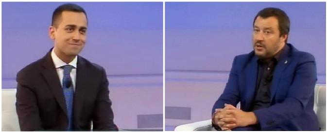 """Governo, Di Maio-Salvini: """"Realizziamo contratto in Parlamento"""". Leader Lega: """"Al voto con Forza Italia? Ci ragionerò"""""""