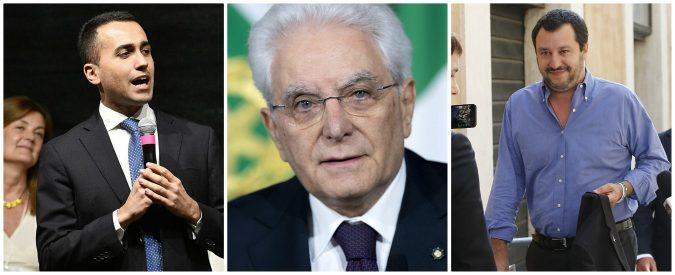 Di Maio, Salvini e Mattarella: le colpe condivise di una crisi di sistema