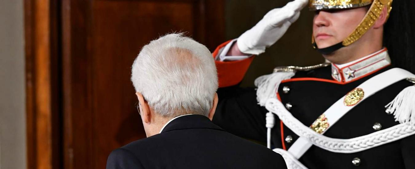 Governo, il suicidio perfetto del mitologico Mattarella