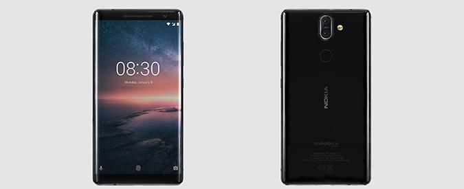Nokia 8 Sirocco debutta sul mercato italiano