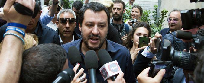 """Salvini: """"Chi insulta e minaccia Mattarella non fa parte del futuro del mio Paese. Ha sbagliato, ma non parlo di impeachment"""""""