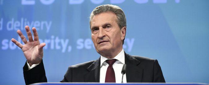 Governo, le parole di Oettinger non sono una svista. Ma l'Italia non è (ancora) la Grecia