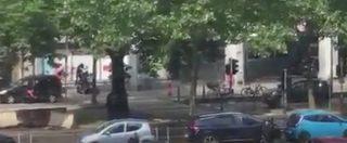 Liegi, entrano in azione le forze speciali. In un video il momento in cui l'attentatore viene ucciso dalla polizia