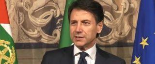 """Governo, Conte accetta l'incarico e legge la lista dei ministri: """"Mi affiancheranno Di Maio e Salvini"""". Ci sono anche Toninelli e Costa"""