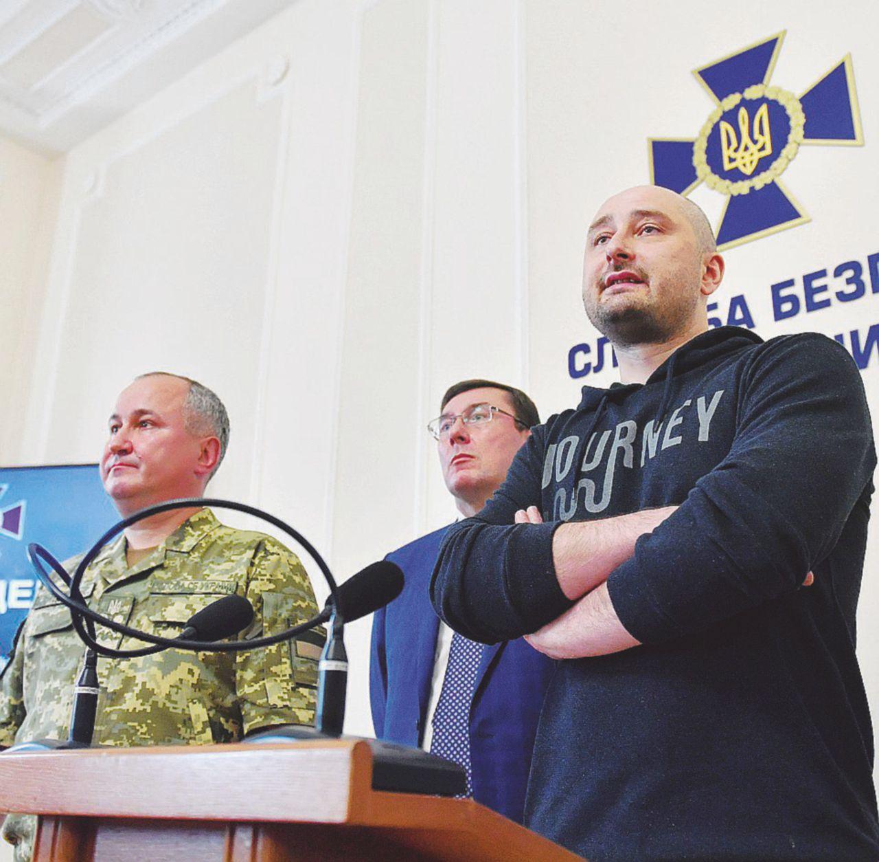 Cucù, il reporter non l'hai ucciso più: beffato Putin