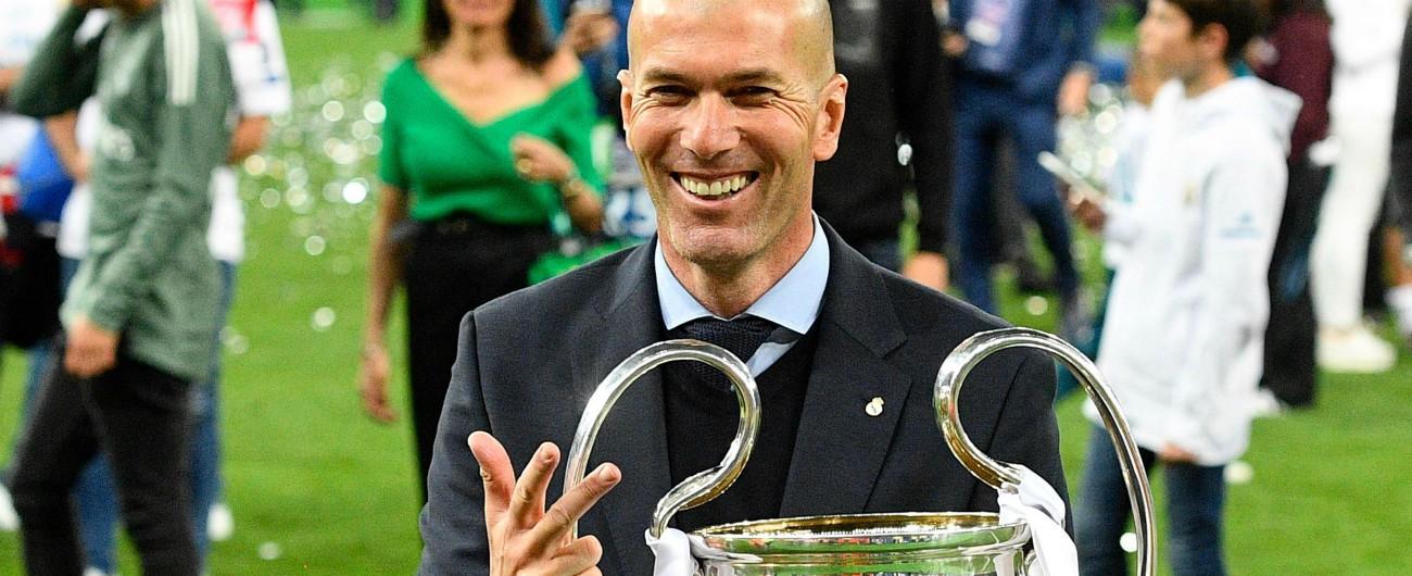 Zidane, un trofeo ogni 100 giorni con il Real. Ma ora l'addio rimescola le carte: valzer delle panchine e Champions aperta