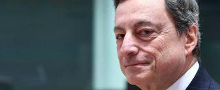 """Aiuti Bce, Draghi: """"Saremo pazienti sul rialzo dei tassi. Il quantitative easing può riprendere se emergono imprevisti"""""""