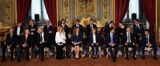 """Governo, Conte e i ministri hanno giurato al Colle. Tria: """"Nessuna forza politica in Italia vuole l'uscita dall'euro"""""""