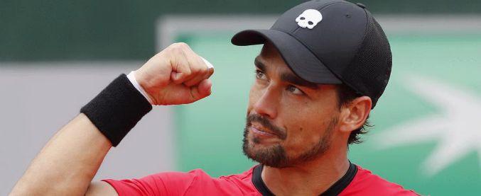 Roland Garros, Fabio Fognini infortunato batte Edmund e raggiunge Marco Cecchinato agli ottavi di finale