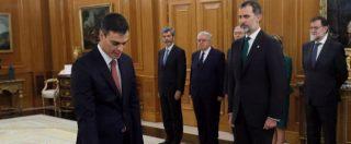 Spagna, Pedro Sanchez premier. Dopo il giuramento la formazione del nuovo governo socialista