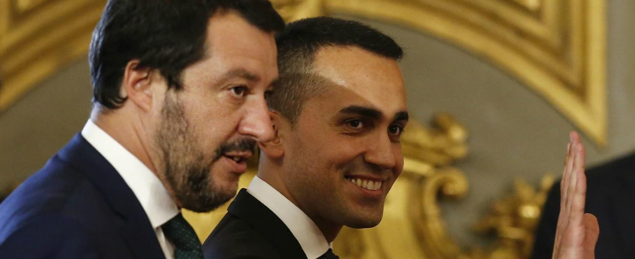"""Fisco, Di Maio a Salvini: """"Eliminazione del tetto all'uso contanti non è nel contratto. Lavorare per togliere costi sui bancomat"""""""