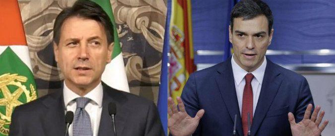 Governo, Italia batte Spagna 1 a 0. Almeno in politica