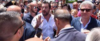 """Migranti, Salvini: """"Terremo linea di buon senso. Sicilia è campo profughi d'Europa. Solidarietà da Merkel? Aspettiamo i fatti"""""""
