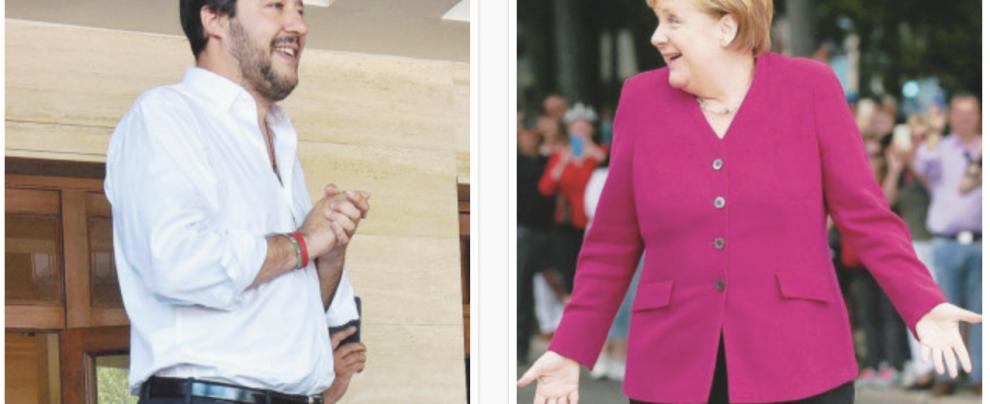 Migranti, lo strano asse tra la Merkel e Salvini