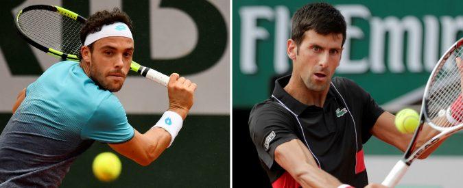 Roland Garros 2018, Cecchinato vs Djokovic. Una favola per due