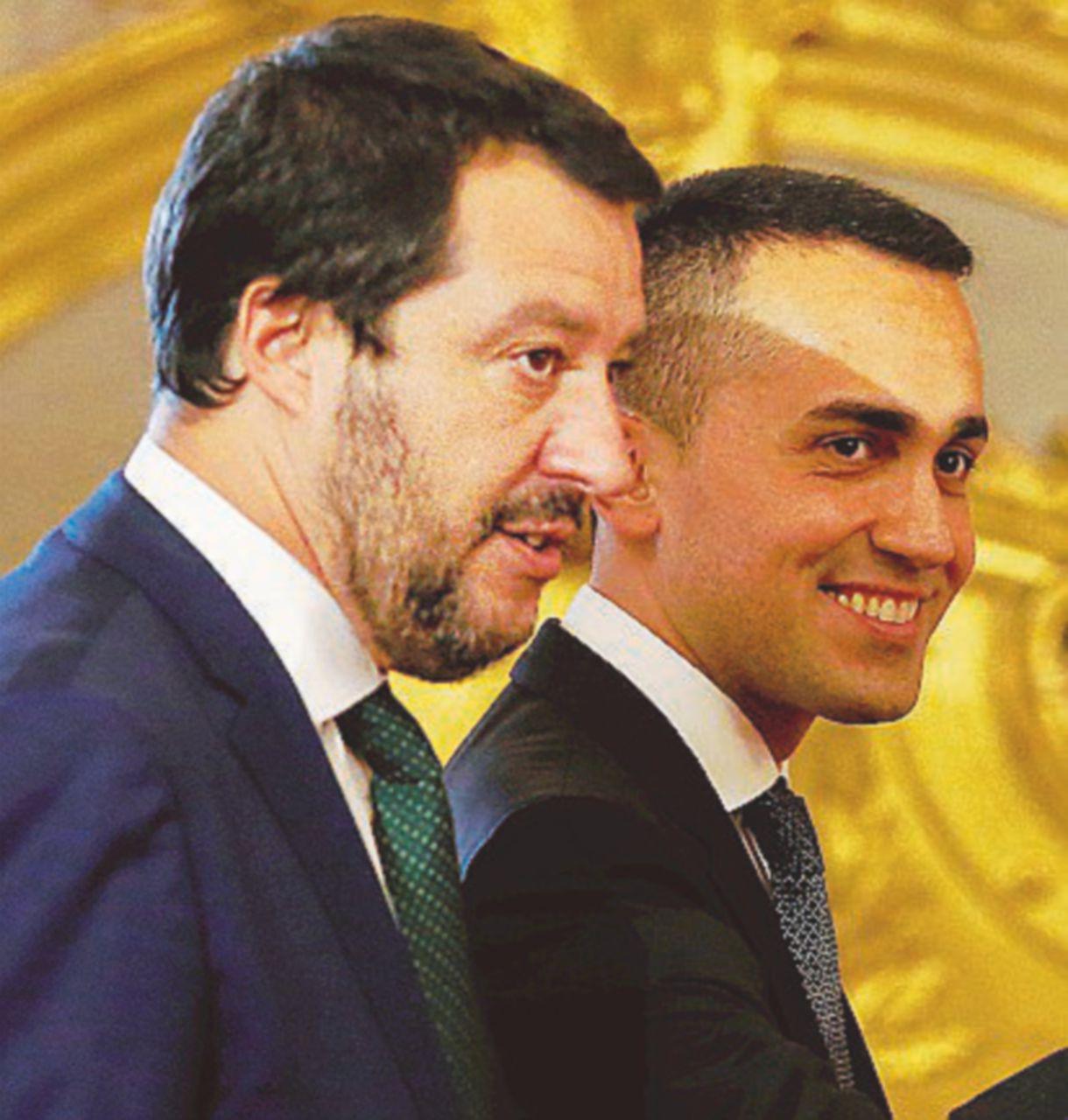Salvini e Di Maio, gli specialisti del comizio ora si godono il lieto inizio