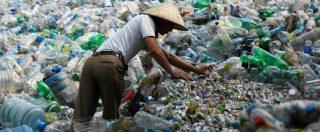 """Rifiuti, dopo la Cina altri Paesi asiatici fermano importazione. """"Nel 2030 rischio di dispersione di 111 milioni tonnellate"""""""