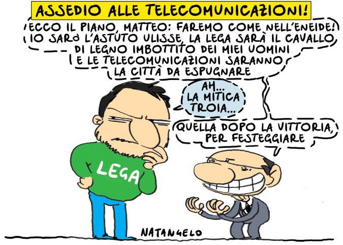 Assedio alle deleghe telecomunicazioni