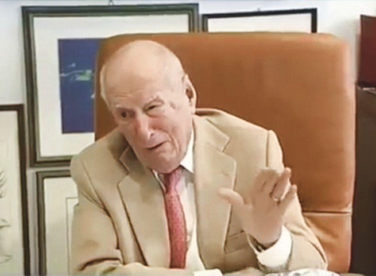 Nicola Amenduni 100 anni di lavoro. Dall'olio del padre al trono d'acciaio