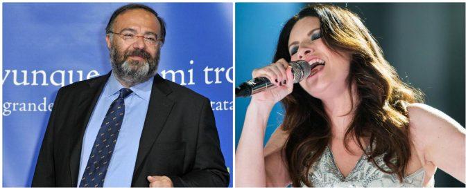 Io sto con Bernardini, la risposta di Laura Pausini è inaccettabile