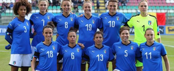 Calcio femminile, l'Italia che può ancora andare al Mondiale: le Azzurre sfidano il Portogallo per la qualificazione