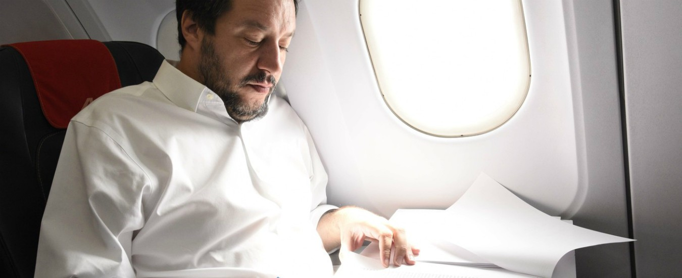 Salvini in Sicilia, se il ministro dell'Interno non trova tempo per parlare di mafia