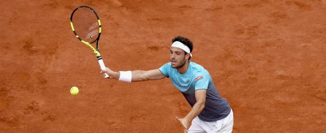 Roland Garros 2018, Cecchinato-Thiem 0-3: l'azzurro lotta per due set, poi crolla nel terzo. L'austriaco è in finale
