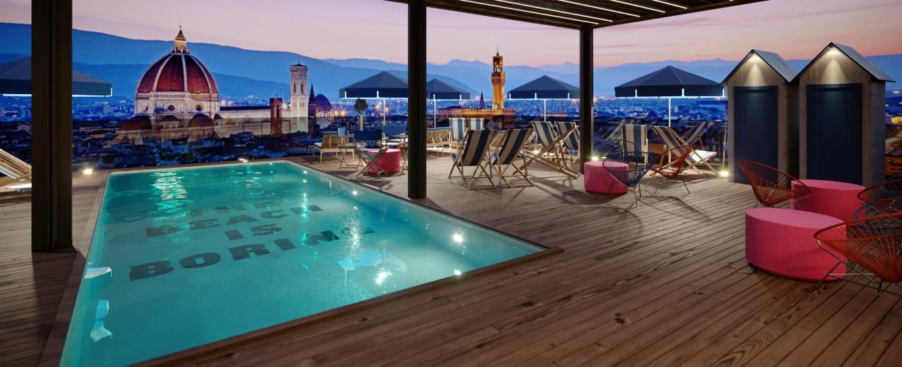 """Firenze, ecco lo """"studentato"""" di lusso: piscina, tv a schermo piatto e letto extra large per oltre 1000 euro al mese"""