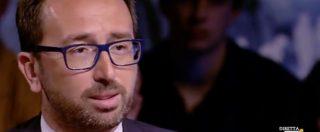 """Bonafede: """"I corrotti devono andare in carcere. Solo con certezza della pena lo Stato sarà credibile"""""""