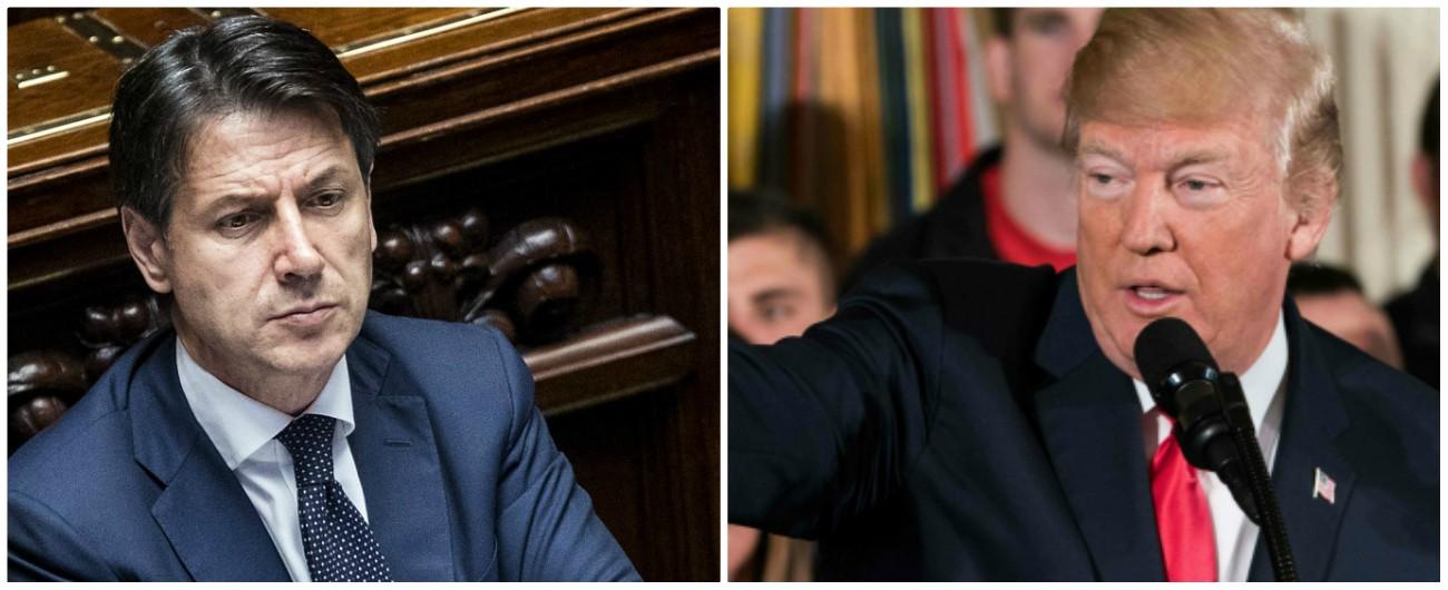 """Conte-Trump, il premier a Washington. Sul tavolo Tap, dazi e missioni militari """"Libia, serve cabina di regia Italia-Usa"""""""