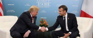 """G7, Trump: """"Sul commercio Ue brutale con Usa"""". Merkel: """"Avremo testo comune, ma non risolve i problemi"""""""