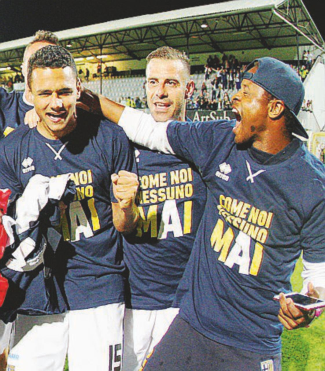 Parma, Whatsapp rovina la festa per la A