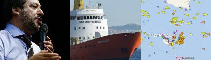 """Migranti, Salvini: """"A Malta la nave con i migranti"""". Valletta dice no. Conte: """"Italia lasciata totalmente sola dall'Europa"""""""