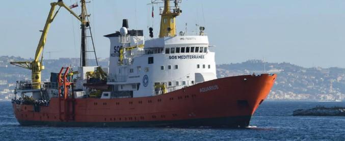 Migranti, 629 salvati nel Mediterraneo: sono a bordo della nave Aquarius