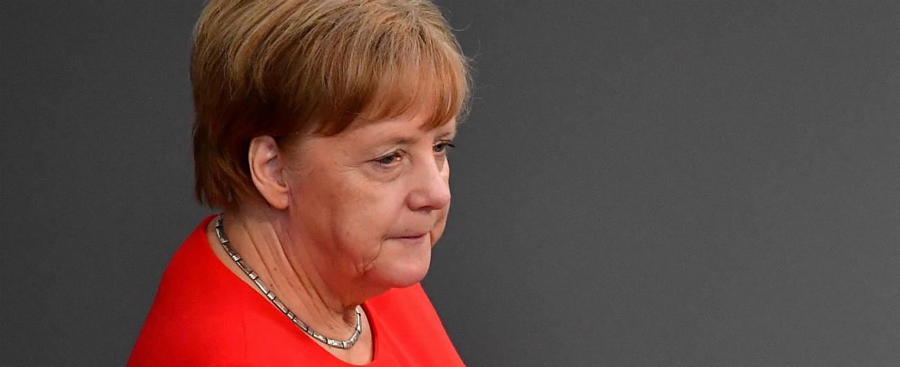 """Migranti, Merkel: """"Servono polizia di frontiera europea e standard di asilo comuni o la Ue è in pericolo"""""""